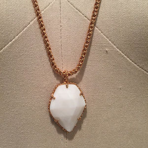 kendra scott Corla necklace white